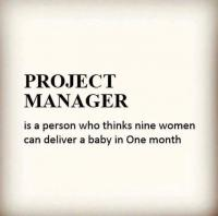 What is project manager?