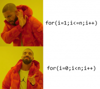 The correct way of using for loop