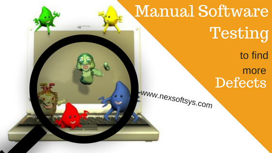 Manual software testing to find more defects