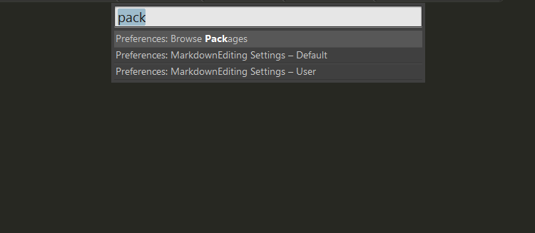 Package Control doesn't show up in Sublime Text 3 | Pixelstech net
