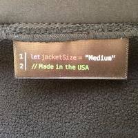 Jacket made in the USA